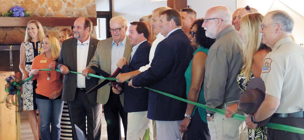 Officials, Friends Celebrate Joe Wheeler's Renovations
