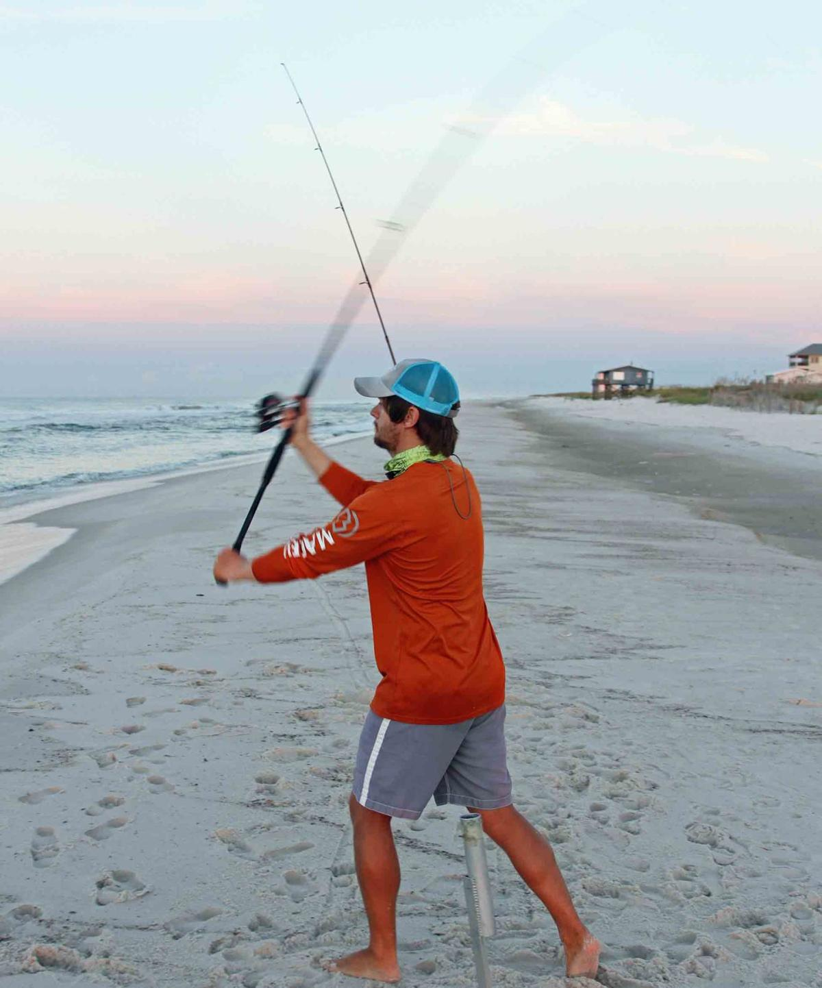 Surf Fishing Provides Isbell with New Vocation