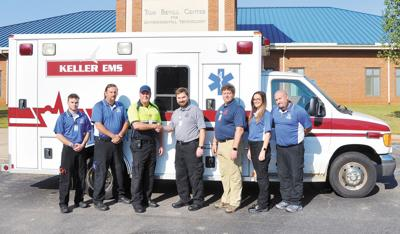 Keller Gifts Ambulance to NWSCC