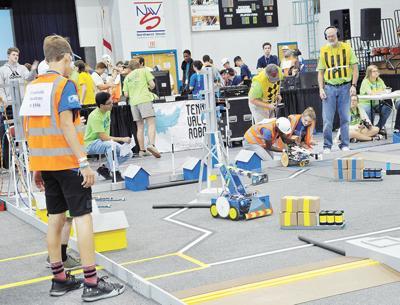 Creekside Academy Excels at BEST Robotics Event
