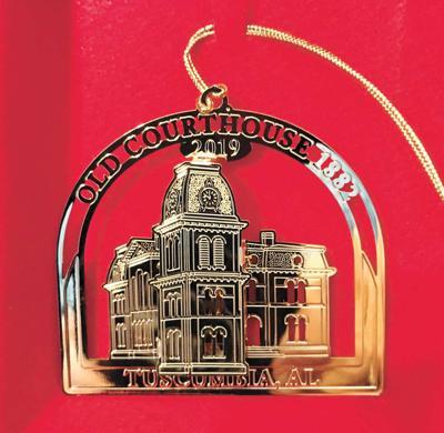 Original Courthouse is Civitan Ornament