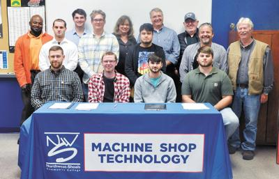 IAMAW signs 10 students into Machinist Apprenticeship