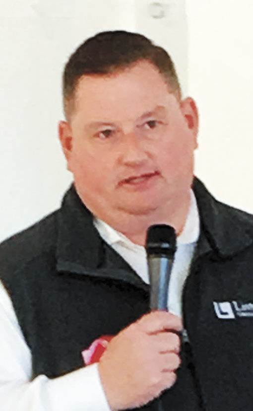 Brad Green, President and CEO of Listerhill