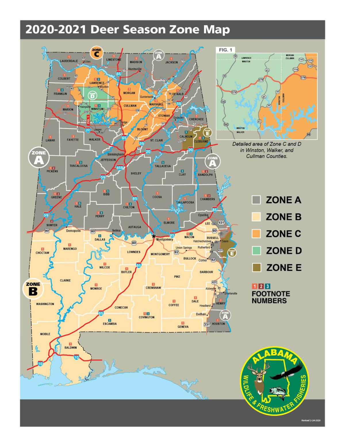 New Deer Zones, Hunting 101 and Transfer of Possession Requirement