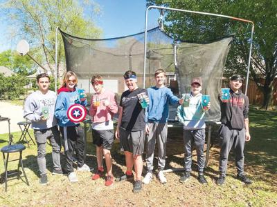Shoals Teens' Unofficial Guinness Record Jumping into History