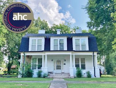 Davis House on Alabama Register
