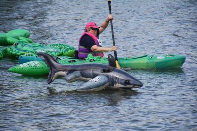 Annual Kayak Fun Challenge Obstacle Course Race