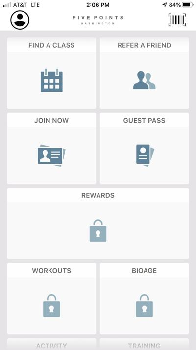 Five Points Washington launches fitness app for members to track fitness activity, earn rewards