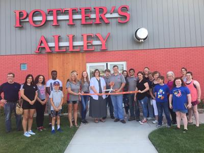 Potter's Alley celebrates grand opening with ribbon cutting, open house