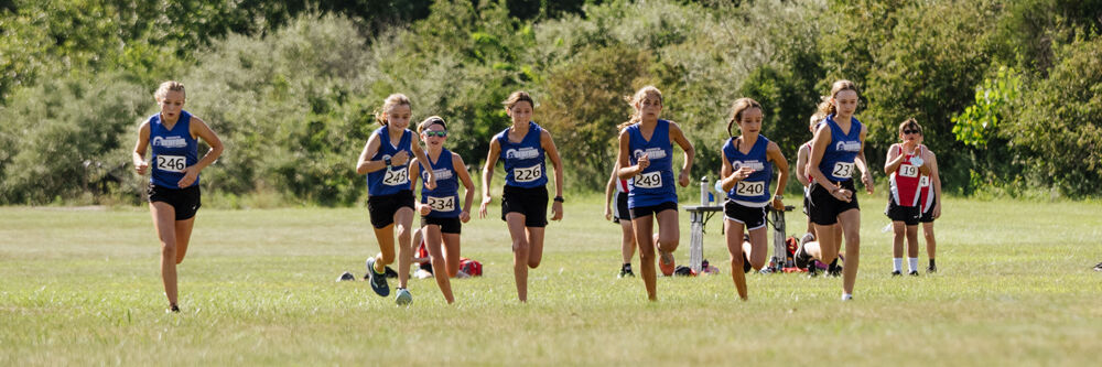 Girls' Varsity race