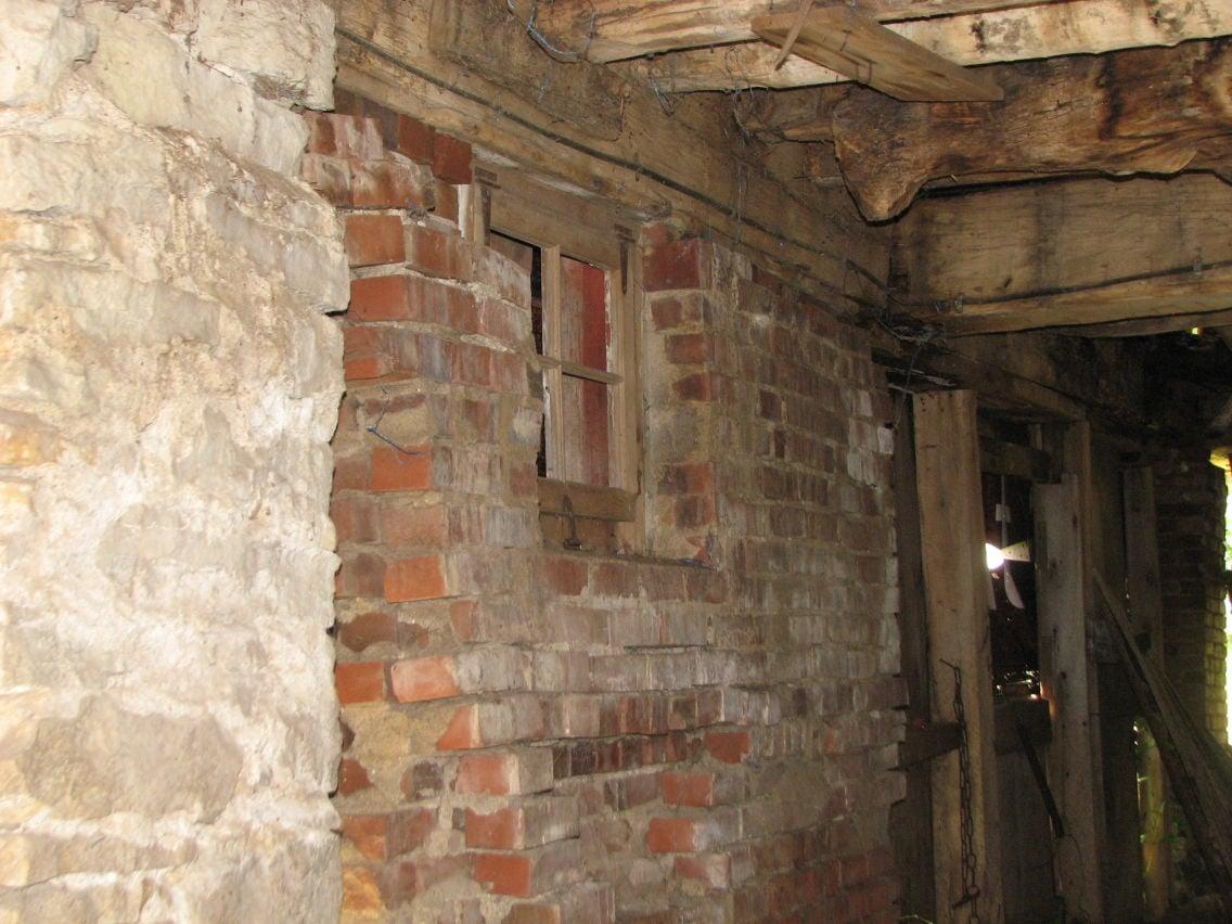 Davidson Barn masonry