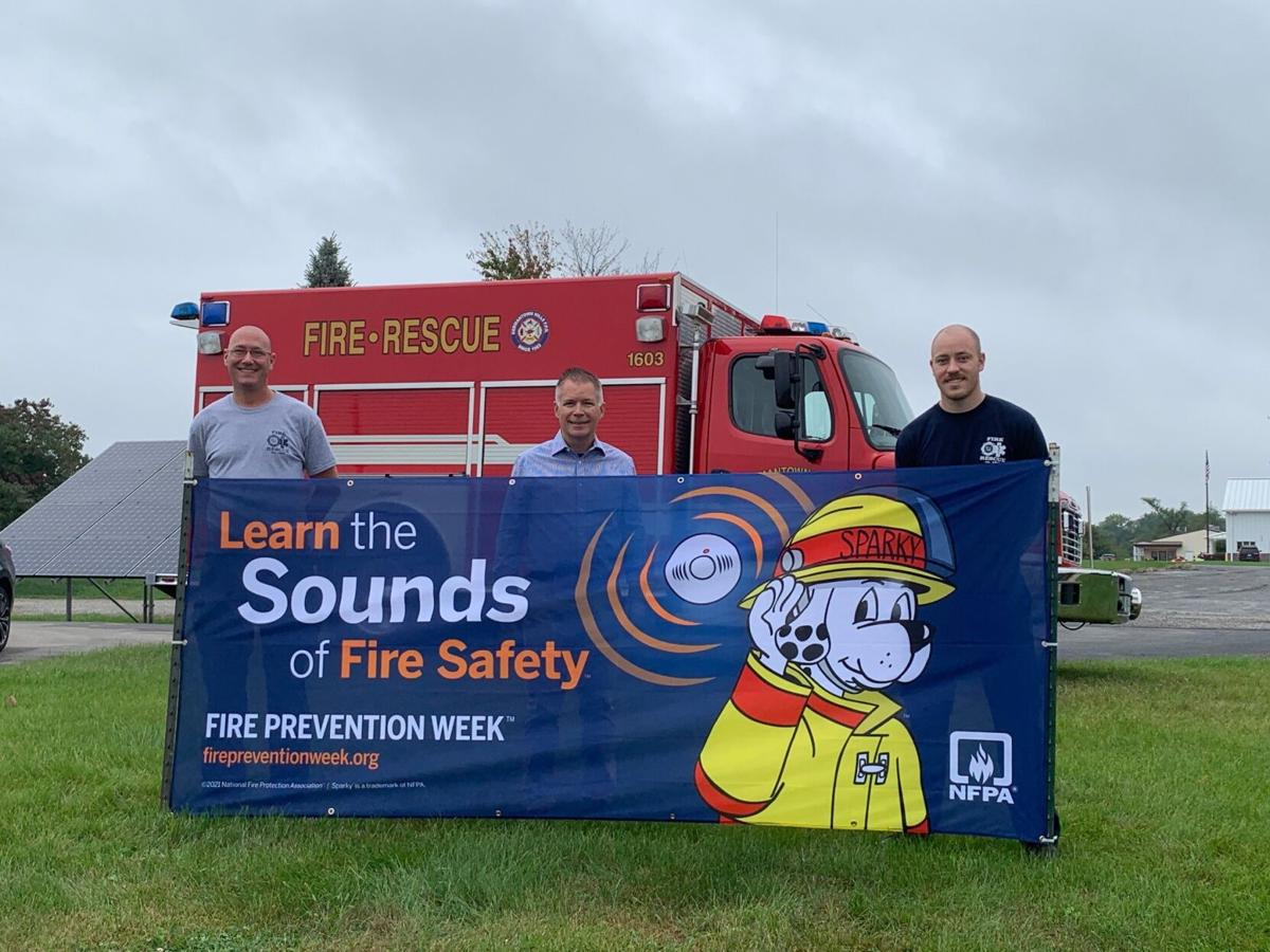 Spring Bay, Germantown Hills fire departments partner with State Farm to remind residents to 'Learn the Sounds of Fire Safety'