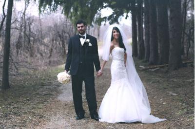 Amira Vicari and Robert Hills