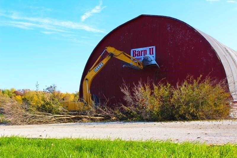 Conklin S Barn Ii Dinner Theater Demolished Efforts To