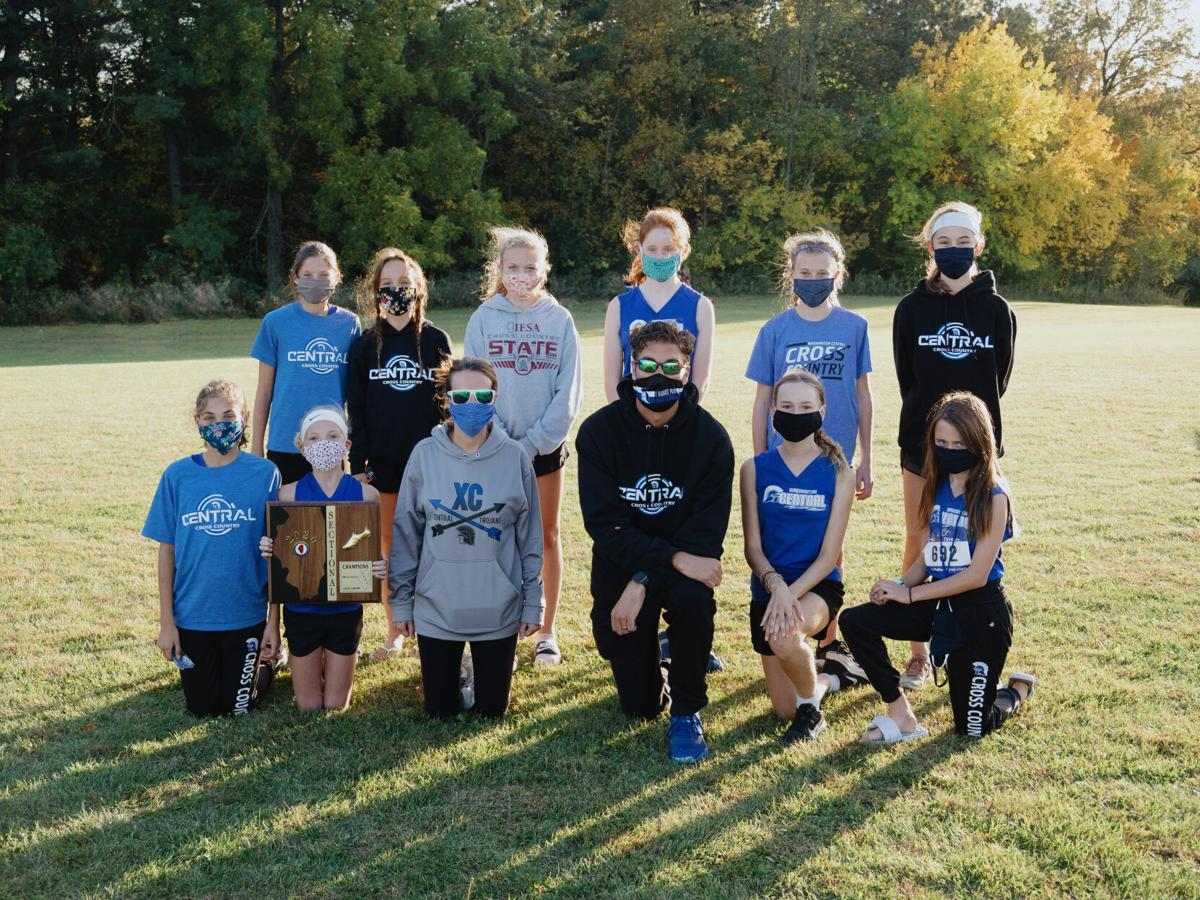 Central Intermediate Girls' team