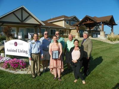Emily Cleveland receives Bernadine Whittington memorial scholarship