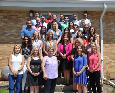 District 709 new teachers and administrators