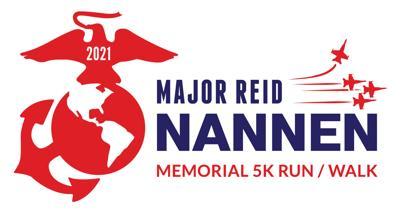Major Reid Nannen Memorial 5K - 2021 Color Logo