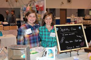 'Squeaky Clean' entrepreneurs Abigail Hatcher and Grayce Wolven