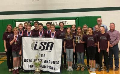 Bethel boys track and field team