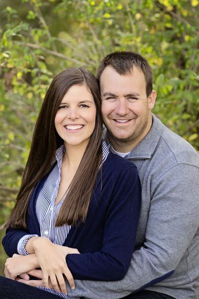 Lauren Hasten and Eric Joop