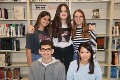 WCHS exchange students