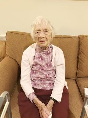 Centenarian Annette Dyar-Sherman