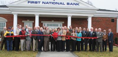 First National Bank Celebrates Opening Of New Branch Glade Sun