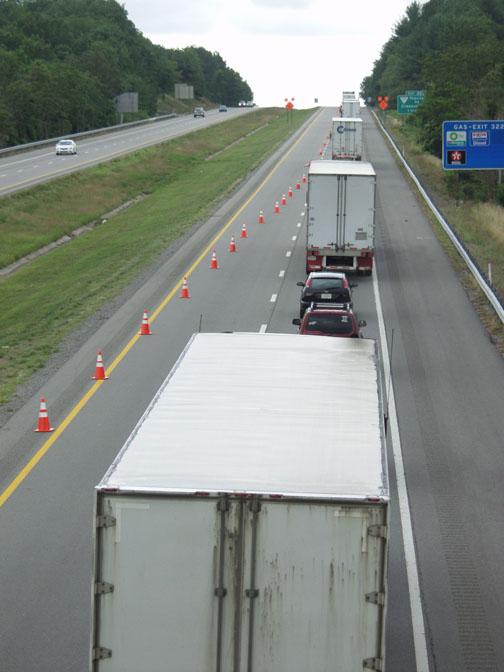 Crash involving chemical hauler closes I-40, U S  70 | Local