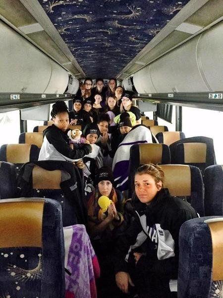 NU women's hoops team stranded in snowstorm