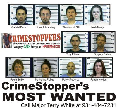 Crimestoppers posts most wanted | Local News | crossville