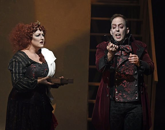 A REVIEW: Sweeney Todd a deliciously macabre musical tale