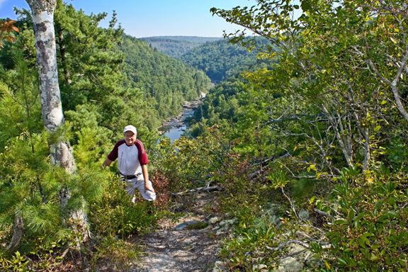 11-8 TTA-howard owens on obed segment of cumberland trail.jpg