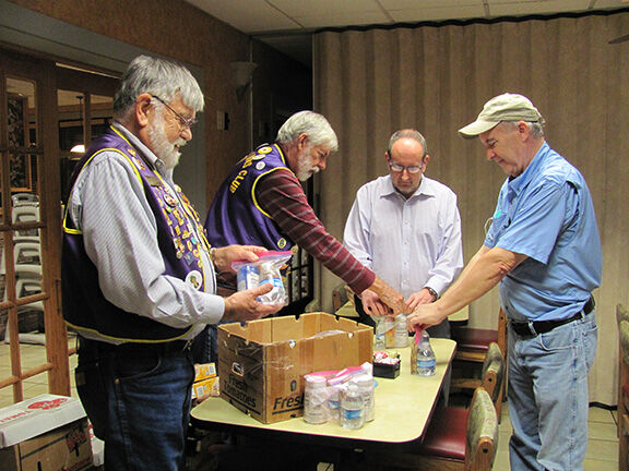 Crossville Lions-diabetes kits Assembly.JPG