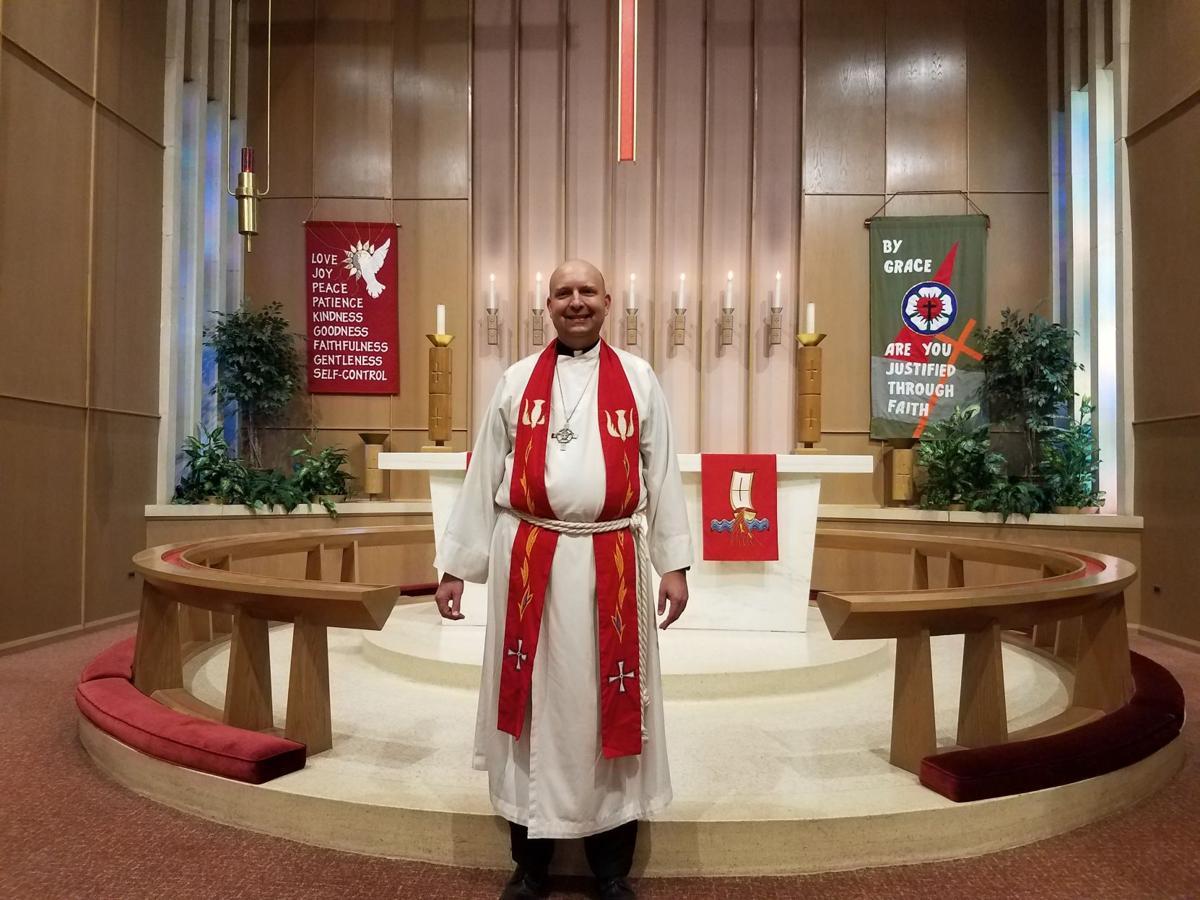 Trinity Lutheran installs new pastor