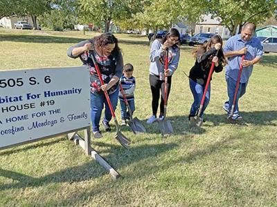 Ground broken for new home