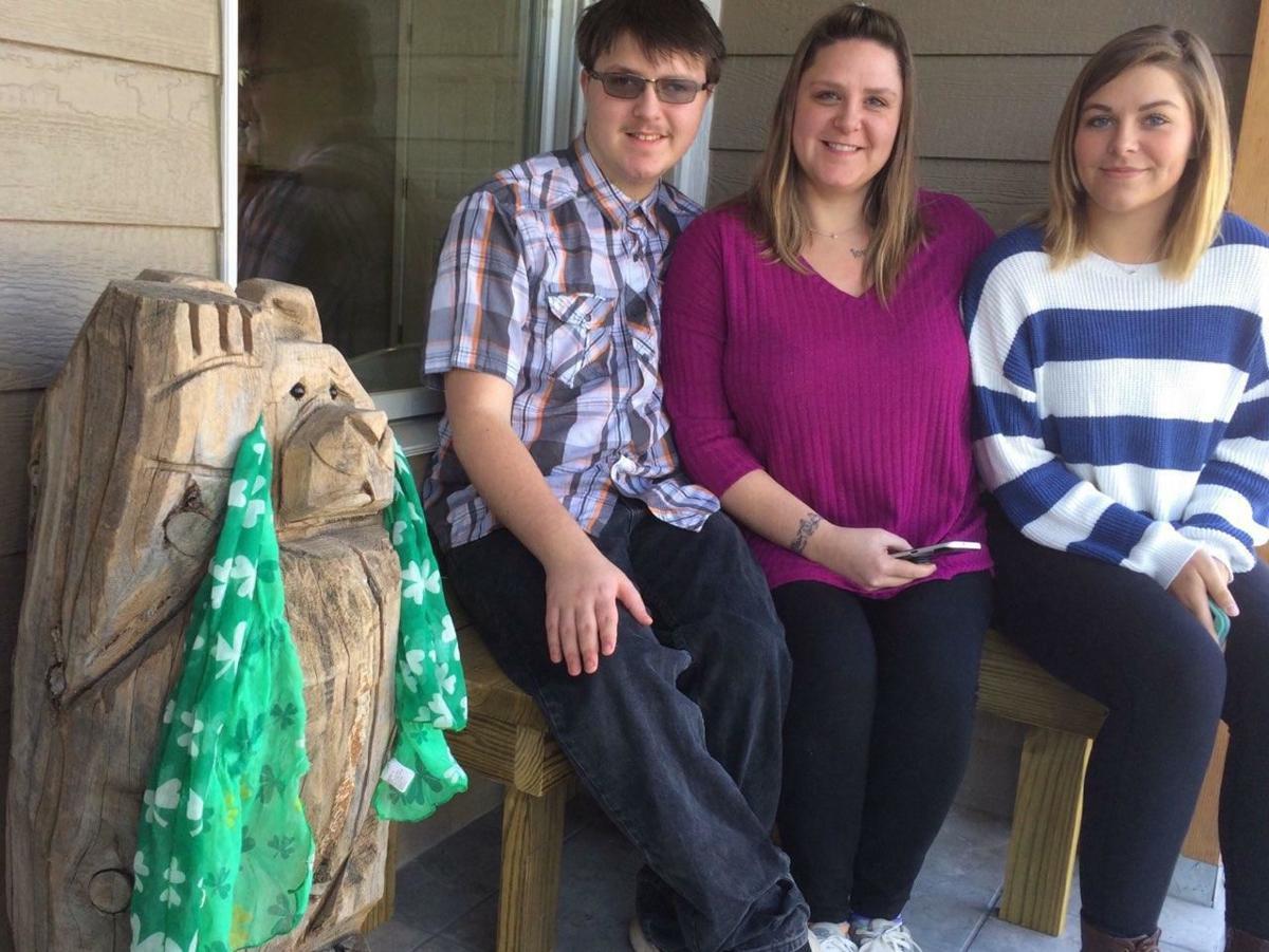 Evans family settles into Habitat home