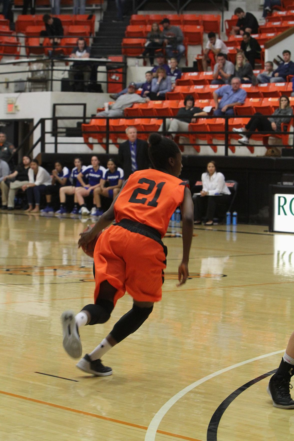 Lady Tigers roll past Barton to improve to 9-0