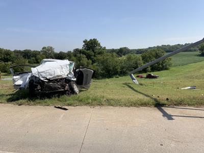 Police: fleeing truck collides with van, sending three to hospital