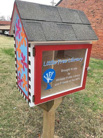 Mini-libraries pop up around Winfield