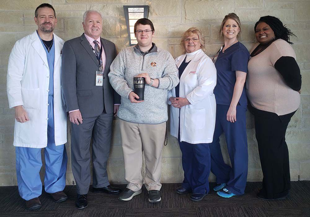 Smith receives 'Lifesaver of the Month' decoration