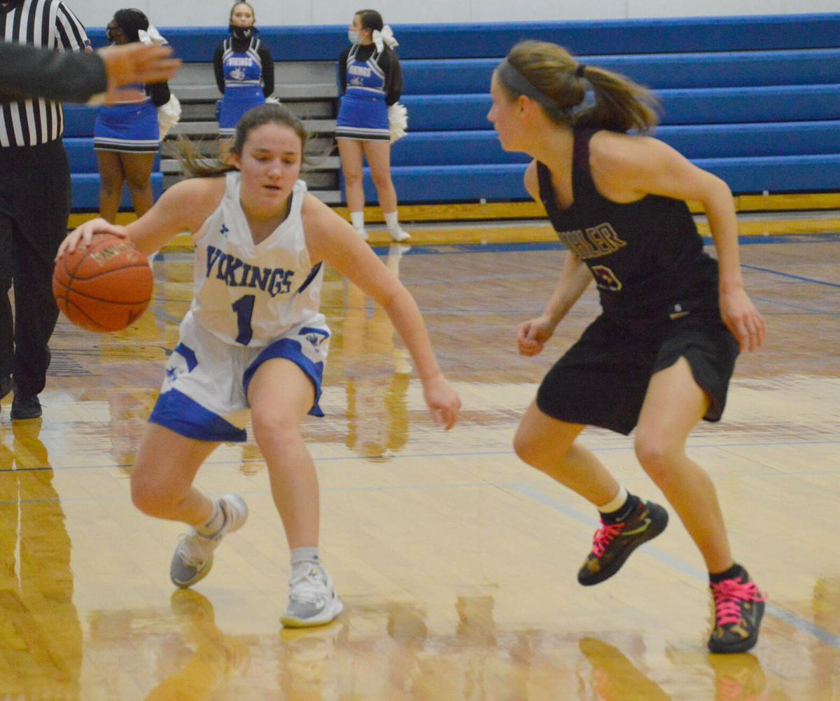Lady Vikings put away Buhler in double-overtime