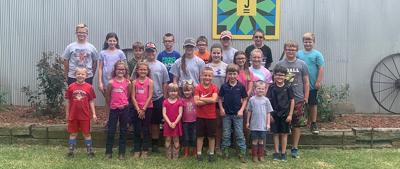 Udall 4-H holds annual farm tour