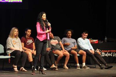 Comedy hypnotist keeps the audience laughing