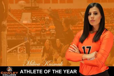 Kusmuk named Athlete of the Year