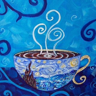 Saturday coffee with the arts