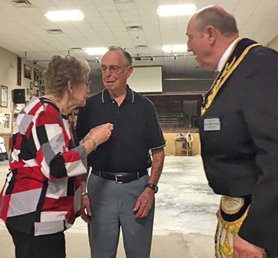 Winfield Masonic Lodge honors Owens for 50 years of service