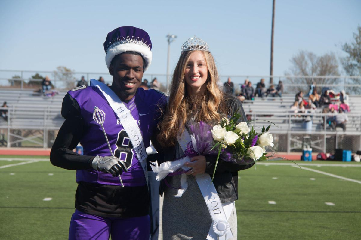 Henderson and Whitfield named homecoming royalty