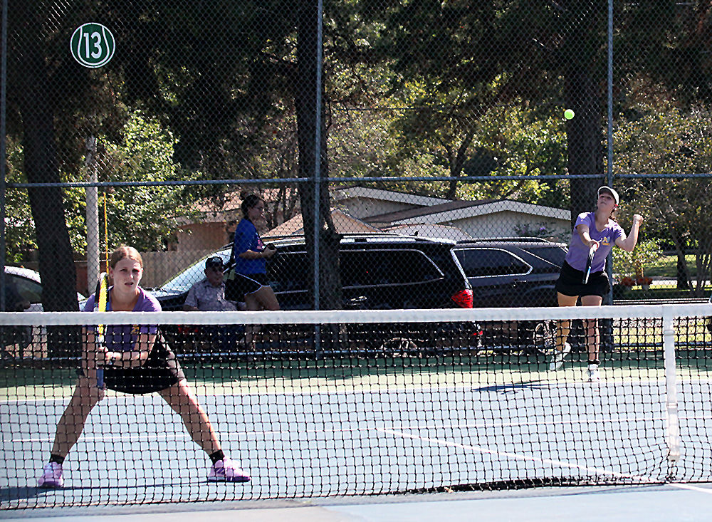 Doubles lead Lady Bulldogs to title