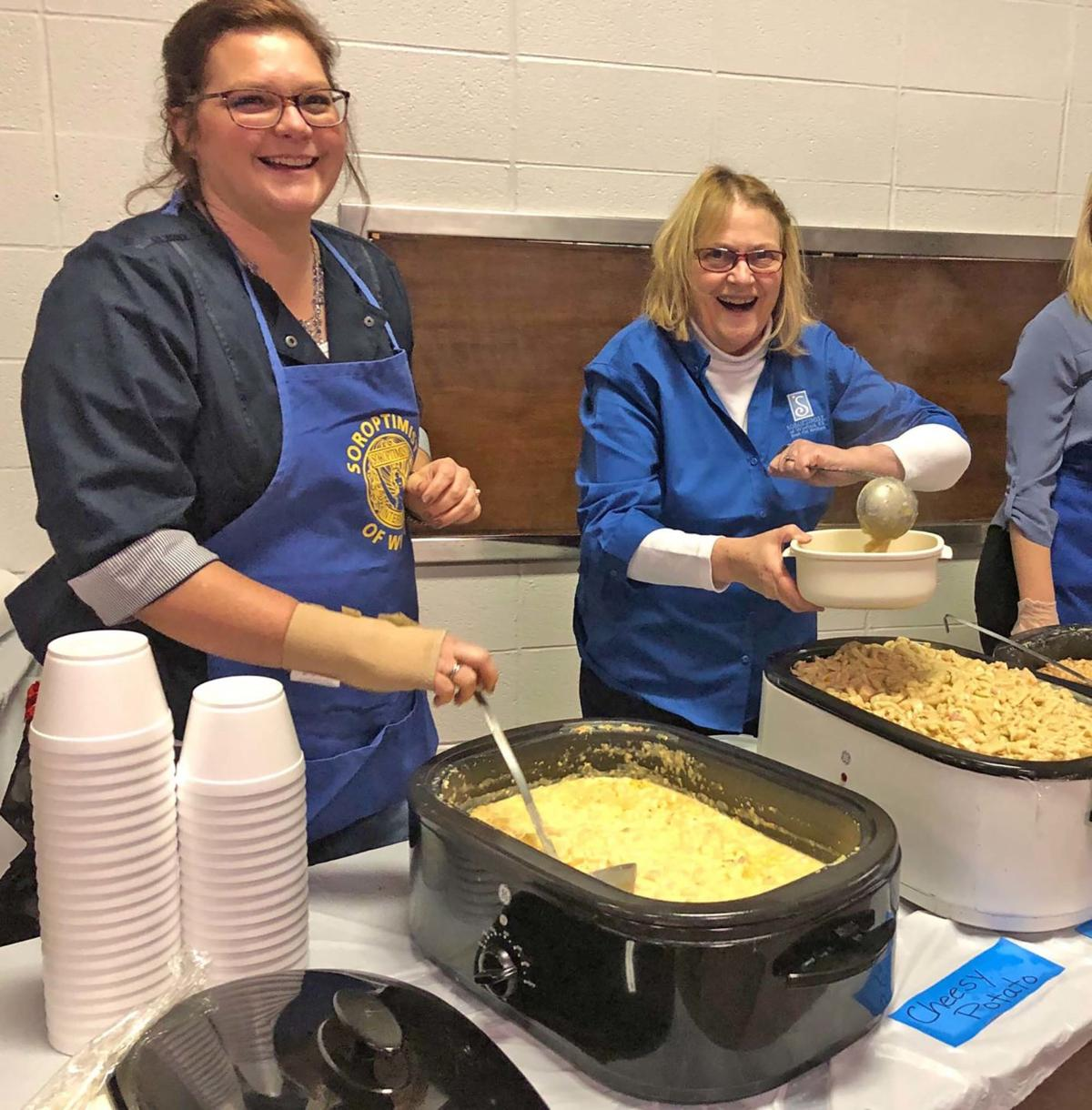 Winfield Soroptimist soup supper upcoming